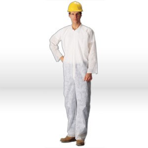 Picture of C2412-2XL Lakeland Coverall,Polypropylene 1.25 ounce,Coverall W/zipper,2X-L