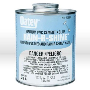 Picture of 30893 Oatey Rain-R-Shine Pipe Cement,16 oz