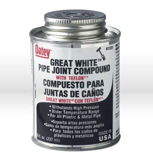 Picture of 31231 Oatey Great White Joint Compound,8 fl oz