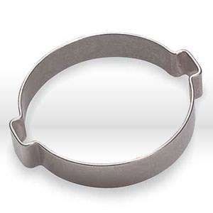 Picture of 10100029 Oetiker 1922 Two Ear Clamp,For air and fluid media lines,Zinc Plated,4.1- 46mm