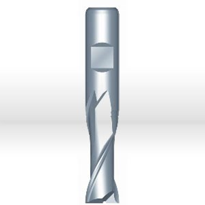 """Picture of 5110316 Precision Twist Drill HSS End Mill,Weldon Shank,2 flutes,3/4"""" DIA tip,L 3-3/4''"""