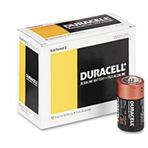 Picture of MN1300 Duracell Coppertop Batteries,D,12 Pack