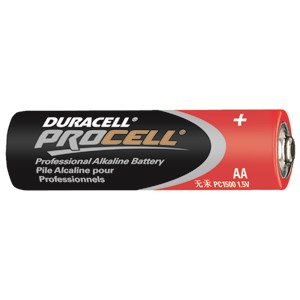 Picture of PC1500 Duracell Procell Alkaline Batteries,AA,24 Box