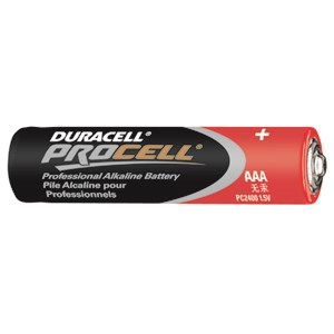 Picture of PC2400 Duracell Procell Alkaline Batteries,AAA,24 Box