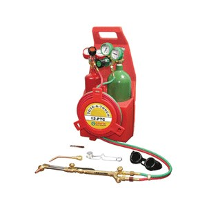Picture of 12-PTC Gentec TOTE-A-TORCH,Medium Duty Deluxe W/Carrier,Cylinders,Check valves in Standard Cases