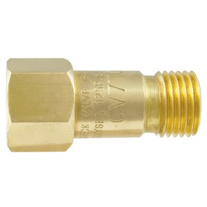 Picture of 24-CV7TO Gentec Check Valve,Torch End,Oxygen,200420001