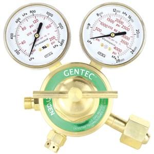 Picture of 753X-125 Gentec Heavy Duty Oxygen Regulator,110271310