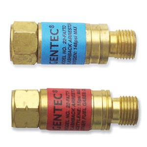 Picture of FA7TPR Gentec Flashback Arrestor,Torch End Adapter Pair,Fuel & Oxy,123002140