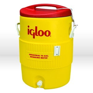 Picture of 4101 Igloo 400 Series Commercial andIndustrial Water Cooler,10 Gallon,Portable,Yellow