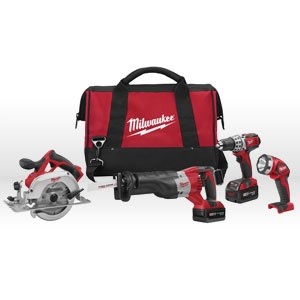 Picture of 2694-24 Milwaukee M18 18-Volt 4-Tool Cordless Combo Kit