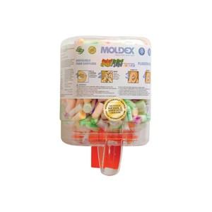 Picture of 6645 Moldex Foam Earplug Dispensers,Plugstation 500 Pairs SparkPlugs Earplugs,NRR 33
