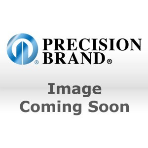 "Picture of 42260 Precision 2""x2""x0.100"" Stainless Steel Slotted Shim (Pack of 5)"
