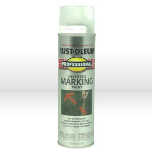 Picture of 2596838 Rust-Oleum Marking Spray Paint,Professional,Clear,15 oz