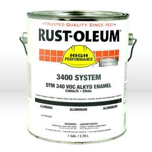 Picture of 3415402 Rust-Oleum 3400 Enamel Paint,1 gallon,Aluminum,Dry Time 6-8 hrs