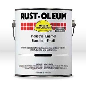 Picture of 634402 Rust-Oleum Enamel Paint,Industrial Alkyd Oil Based Enamel,1 gallon,High gloss black