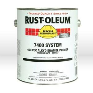 Picture of 7086402 Rust-Oleum Paint Primer,Enamel,High PerformanceIndustrial Enamel,1 gallon,Flat gray