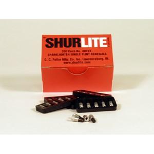 Picture of 3001X Shurlite Single Flint Renewals,40 holders of 5 flints