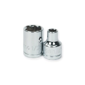 "Picture of 31332 Williams Standard Socket,3/8"" Drive,6 Point,1"",L 2-1/2"""