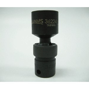 "Picture of 36216 Williams Universal Impact Socket,3/8"" Drive,Standard,6 Point,1/2"",L 2-1/3"""