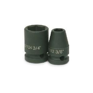 "Picture of 37114 Williams Metric Impact Socket,1/2"" Drive,6,7/16"",L 1-1/2"""