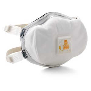 Picture of 51138-54143 3M Disposable Particulate Respirator,8233,N100
