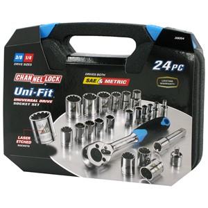 Picture of 38054 Channellock-24 Pc. UNI-FIT Socket Set
