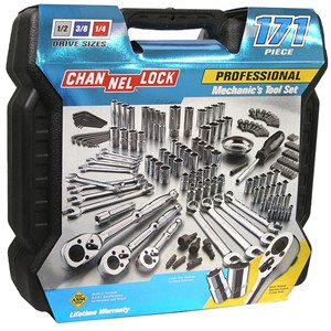 Picture of 39053 Channellock-171 Pc. Mechanic's Tool Set