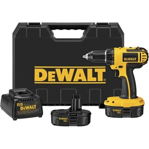 "Picture of DC720KA DeWalt XRP Cordless Driver Drill,1/2"" single sleeve ratcheting chuck"