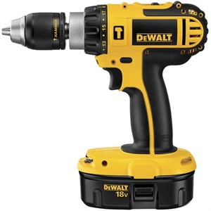 "Picture of DC725KA DeWalt Cordless 1/2"" Compact Hammer Drill Kit"