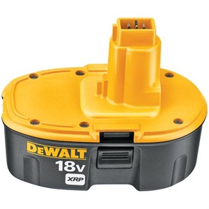 Picture of DC9096 DeWalt XRP Battery Pack,18V Rechargeable NiCad battery pack