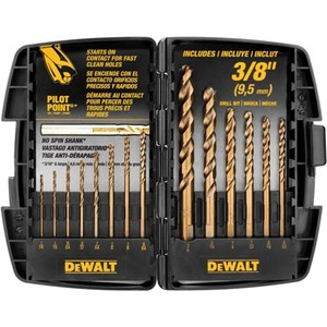 Picture of DW1263 DeWalt 13pc Cob Drill Bit Split P t Set