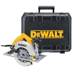 "Picture of DW364K DeWalt 7-1/4"" Rear Pivot Circular Saw Kit W/Electric Brake"
