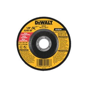 "Picture of DW4518 DeWalt Bonded Abrasive,4-1/2""x1/8""x7/8"" General Purpose Metal Cutting Wheel"