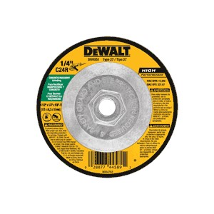"Picture of DW4551 DeWalt Grinding Wheel,4-1/2""x1/4""x5/8""-11 Msn"