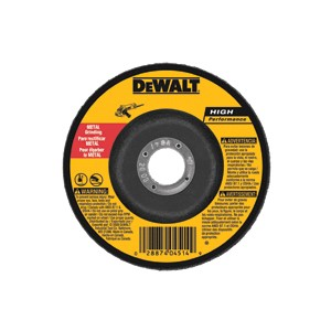 "Picture of DW4619 DeWalt Bonded Abrasive,5""x1/4""x7/8"" General Purpose Metal Grinding Wheel"