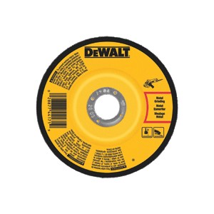 "Picture of DW4626 DeWalt Bonded Abrasive,6""x1/4""x5/8""-11 General Purpose Metal Grinding Wheel"