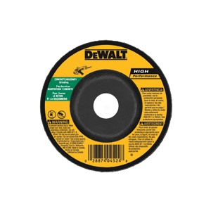 "Picture of DW4629 DeWalt Bonded Abrasive,5""x1/4""x7/8"" Concrete/Masonry Grinding Wheel"