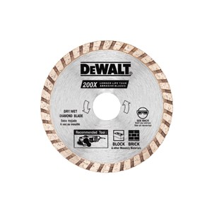 "Picture of DW4719 DeWalt Diamond Blades,7""x1/4""x7/8"" General Purpose Metal Grinding Wheel"