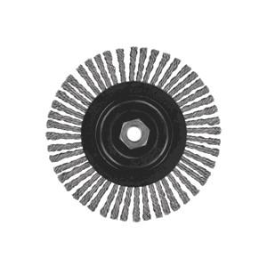"""Picture of DW49251 DeWalt Wire Wheel,5""""x5/8""""-11 XP .020 Stainless Stringer Wire Wheel"""