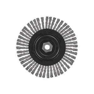 """Picture of DW49252 DeWalt Wire Wheel,6-1/2""""x5/8""""-11 XP .020 Stainless Stringer Wire Wheel"""