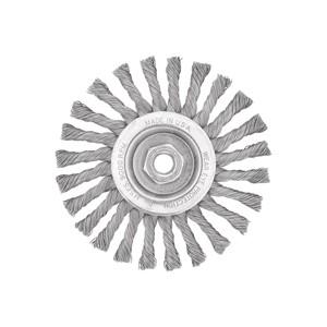 "Picture of DW4938 DeWalt Wire wheel,6"" Full Cable Twist Wire Wheel/Carbon Steel 5/8""-11 Arbor .025"""