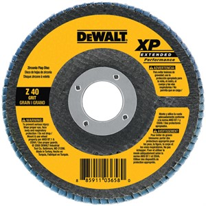 "Picture of DW8260 DeWalt Flap Disc,5""x7/8"" Z80 T27 XP FLAP DISC"
