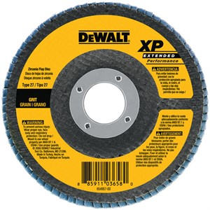 """Picture of DW8276 DeWalt Flap Disc,6""""x7/8"""" Z80 T27 XP flap disc"""
