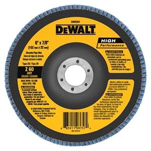 """Picture of DW8381 DeWalt Flap Disc,6""""x7/8"""" Z60 T29 HP flap disc"""