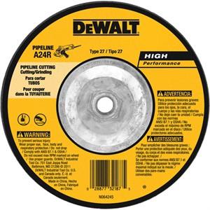 "Picture of DW8438 DeWalt Bonded Abrasive,6""x1/8""x5/8""-11 eline Cutting/Grinding Wheel"