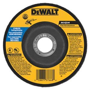 "Picture of DW8458 DeWalt Bonded Abrasive,9""x1/8""x7/8"" Stainless Steel Grinding Wheel"