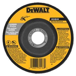 """Picture of DW8477 DeWalt Bonded Abrasive,9""""x1/4""""x7/8"""" T27 aluminum wheel"""