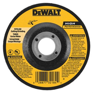 "Picture of DW8485 DeWalt Bonded Abrasive,6""x1/8""x7/8"" eline Cutting/Grinding Wheel"