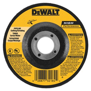 "Picture of DW8486 DeWalt Bonded Abrasive,7""x1/8""x7/8"" eline Cutting/Grinding Wheel"