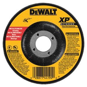 "Picture of DW8814 DeWalt Bonded Abrasive,5""x1/4""x7/8"" Zirconia Abrasive"